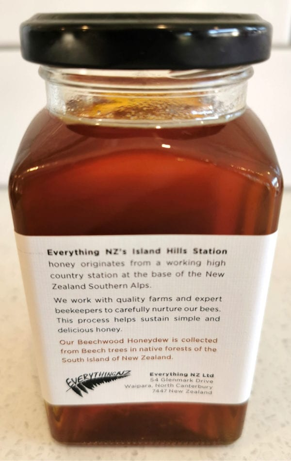 BEECHWOOD DEW Honey Description - Island Hills Station