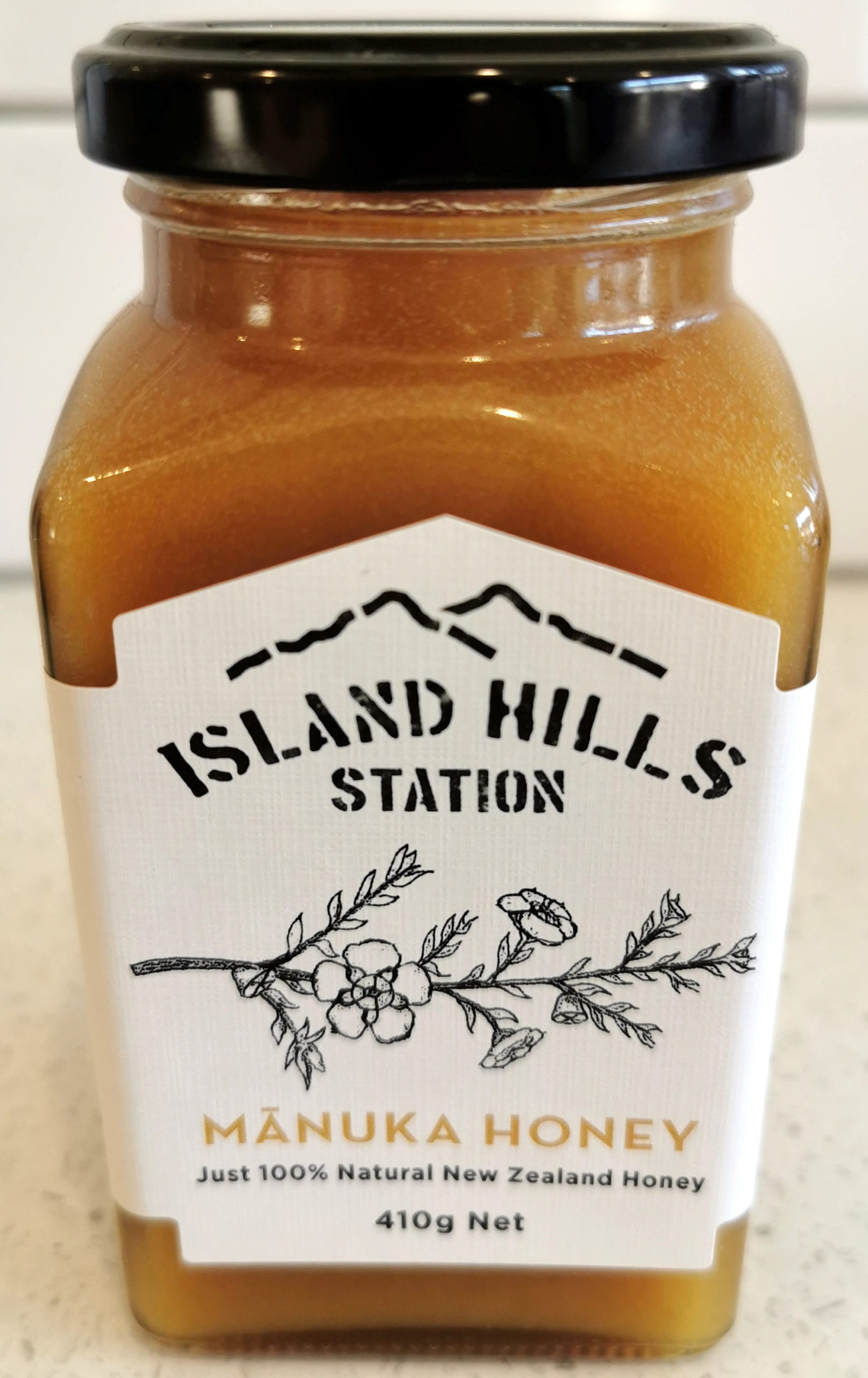Manuka Honey Front - Island Hills Station